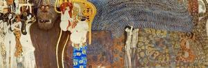 The Beethoven Frieze, Detail: the Hostile Forces, 1902 by Gustav Klimt