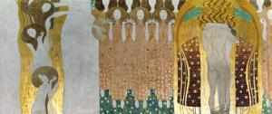 The Beethoven Frieze by Gustav Klimt