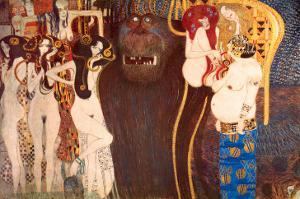 The Hostile Force, c.1902 by Gustav Klimt
