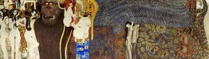 The Hostile Powers, the Titan Typhoeus, the Three Gorgons, Voluptiousness, Wantonness, Immoderation by Gustav Klimt