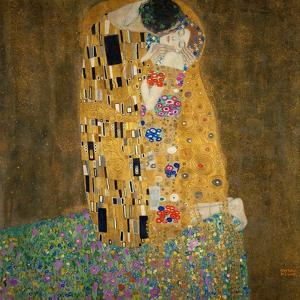 The Kiss, 1907-1908 by Gustav Klimt