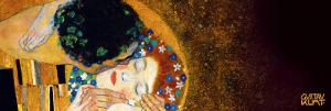 The Kiss, c.1907 (darkened detail) by Gustav Klimt