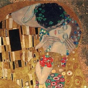 The Kiss, c.1907 (detail) by Gustav Klimt