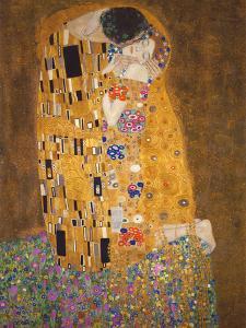 The Kiss, c.1907 by Gustav Klimt