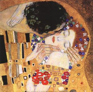 The Kiss Detail by Gustav Klimt
