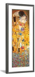 The Kiss - Golden Metallic Ink by Gustav Klimt