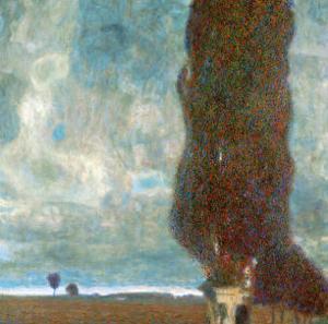 The Large Poplar Tree (II) or Coming Storm by Gustav Klimt