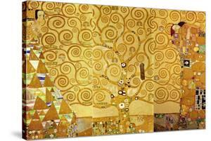 The Stoclet Frieze, Detail: the Expectation, Tree of Life, 1905-1909 by Gustav Klimt