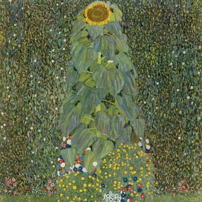 The Sunflower, 1905 by Gustav Klimt