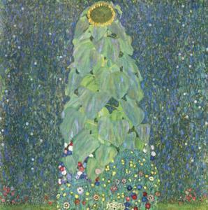 The Sunflower c.1906-1907 by Gustav Klimt