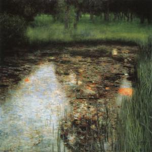 The Swamp by Gustav Klimt