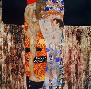 The Three Ages of Man, 1905 by Gustav Klimt