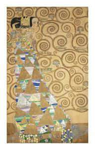 The Tree of Life - Expectation by Gustav Klimt