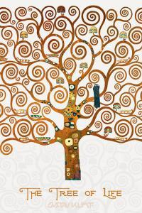 The Tree of Life Pastiche Marzipan by Gustav Klimt