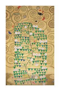 The Tree of Life - Rosebush by Gustav Klimt