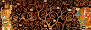The Tree of Life, Stoclet Frieze, c.1909 (darkened detail) by Gustav Klimt