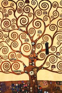 The Tree of Life, Stoclet Frieze, c.1909 by Gustav Klimt