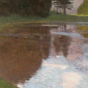 Tranquil Pond, 1899 by Gustav Klimt