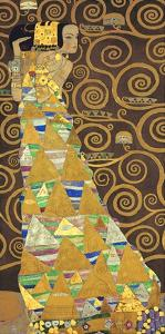Tree of Life (Brown Variation) I by Gustav Klimt