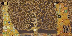 Tree of Life (Brown Variation) IV by Gustav Klimt