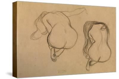 Two Studies of Seated Nude