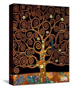 Under the Tree of Life by Gustav Klimt
