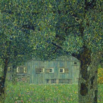 Upper Austrian Farmhouse, 1914 by Gustav Klimt