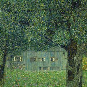 Upper Austrian Farmhouse, 1914 by Gustav Klimt