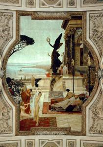 Vienna Burgtheatre (Court Theatre) by Gustav Klimt