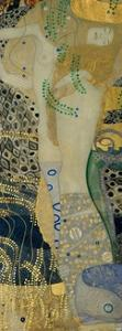 Wasserschlangen (Watersnakes). Oil on canvas (1904-1907). by Gustav Klimt