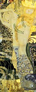 Water Serpents I, c.1907 by Gustav Klimt