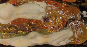 Water Serpents II, 1904-07 by Gustav Klimt