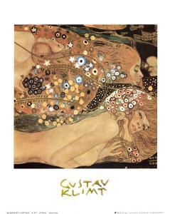 Water Serpents II, c.1907 (detail) by Gustav Klimt