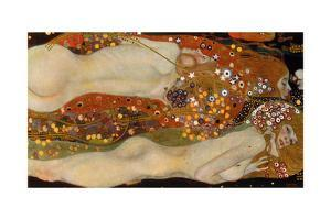 Water Serpents II, (Friends) 1904-07 by Gustav Klimt