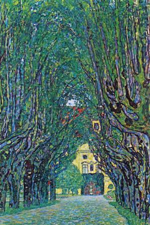 Way to the Park by Gustav Klimt