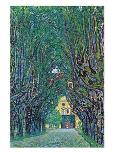 Way to the Park by Gustav Klimt
