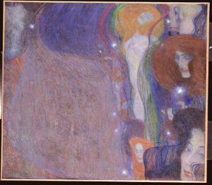 Will-O'-The Wisps, 1903 by Gustav Klimt