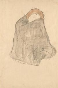 Woman Seated, 1908-1909 by Gustav Klimt