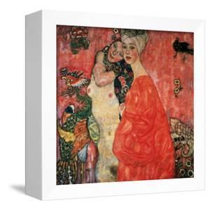Women Friends, 1916-17 (Destroyed in 1945) by Gustav Klimt