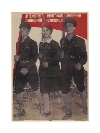 Long Live the Multi-Million-Member Leninist Komsomol, 1932