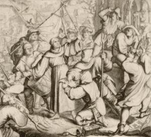 At Seeburg He Condemns the Peasants by Gustav Konig