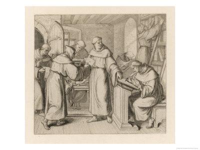 Martin Luther is Sent by Staupitz to the Augustinian Monastery at Meissen in Thuringen