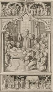 Martin Luther's Funeral by Gustav Konig