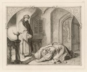 Martin Luther with Hans Kohlhase by Gustav Konig