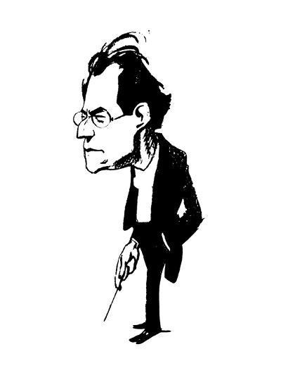 Gustav Mahler (1860-1911)--Giclee Print