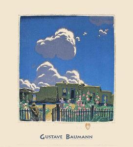 Summer Clouds by Gustave Baumann