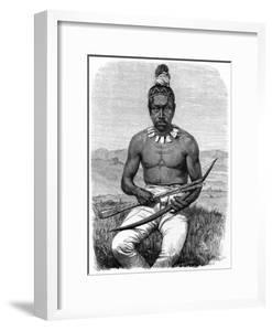 Native American, California, 19th Century by Gustave Boulanger