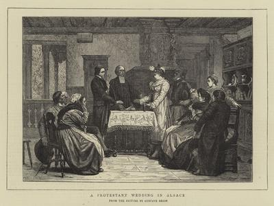 A Protestant Wedding in Alsace