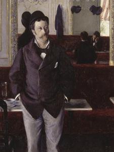Au café by Gustave Caillebotte