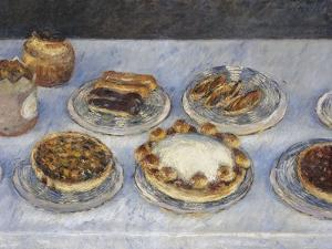 Cakes; Gateaux by Gustave Caillebotte